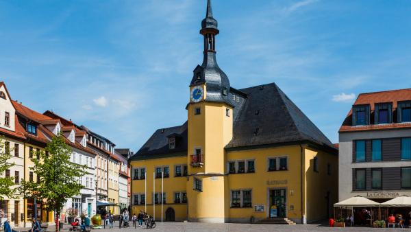 Kommunaldarlehen (im Bild ist das Rathaus in Apolda zu sehen)