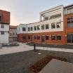 """LutherLoft, Blick auf die Gebäude """"Wohnen am Schlossberg"""" und """"Wohnen in der Druckerei"""""""