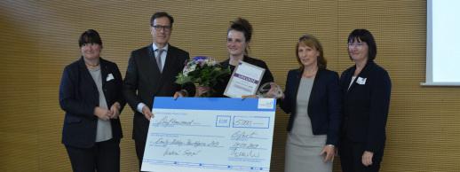 Verleihung Emily Roebling Preis 2019 an Katrin Sergejew