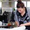 #TABinterview: Die Modedesignerin bei der Arbeit im Atelier