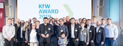 KfW Award Gründen 2019 - Preisverleihung am 18.10.2019