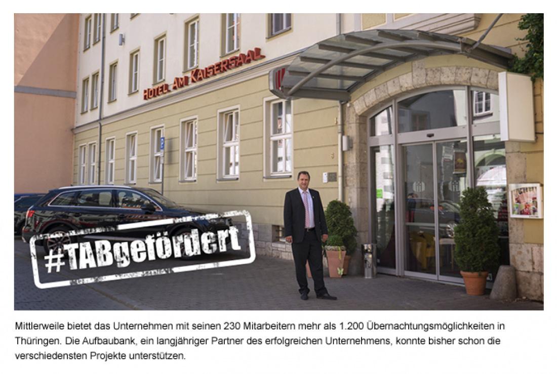 Informationen aus der Thüringer Aufbaubank