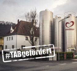 HERZGUT zählt mit 100 Jahren Erfahrung zu den traditionsreichsten Molkereien Deutschlands, und seit 2008 wird die Molkerei tatkräftig von der Thüringer Aufbaubank unterstützt.