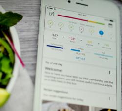04_Mittlerweile kann man mit Hilfe der App seinen persönlichen Kalorien- und Ernährungsplan erstellen.