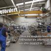 05_Durch den permanenten Ausbau der Leistungen wuchs natürlich auch der Platzbedarf. Die Thüringer Aufbaubank konnte den Neubau der neuen Produktionshalle in Geisleden mit 800.000 EUR unterstützen.