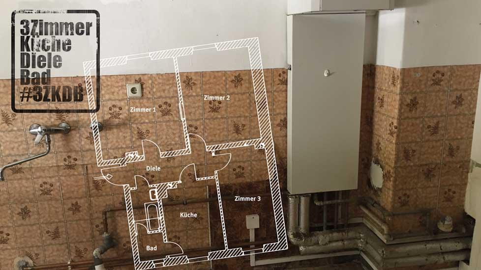 3 Zimmer Küche Diele Bad - Das Wohnen der Zukunft