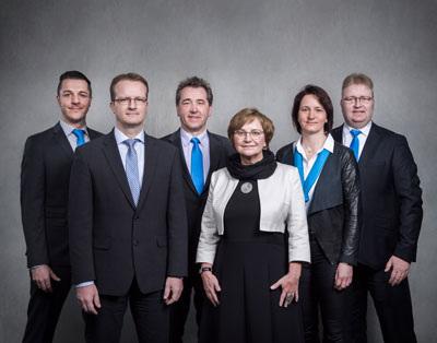 Mitarbeiter Kundencenter der Aufbaubank Erfurt