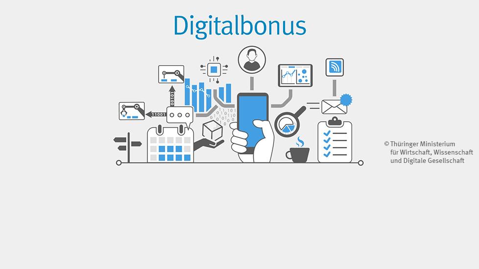 Digitalbonus Thüringen