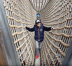 Tourismusförderung - Wurzelhöhle am Baumkronenpfad Hainich - Erfolgsgeschichte
