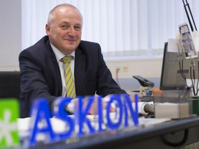 Lutz Doms ist Geschäftsführer der 2005 in Gera gegründeten ASKION GmbH. (im Bild: Lutz Doms)