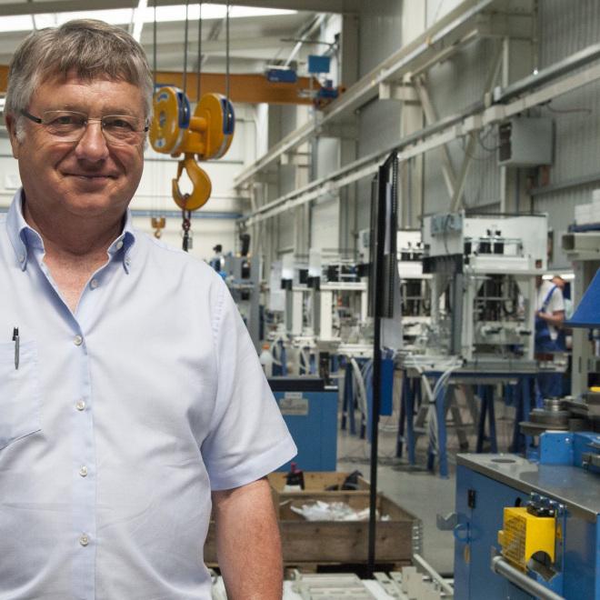 Engelbert Dreiling ist Gründer und Geschäftsführer der Dreiling Maschinenbau GmbH.
