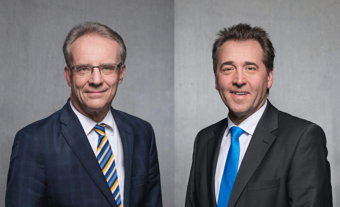 TAB-Kundenbetreuung Mittelthüringen (im Bild: Michael Klughardt und Steffen Peschke)