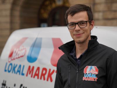 Falko Smirat Gründer von Mein Lokalmarkt