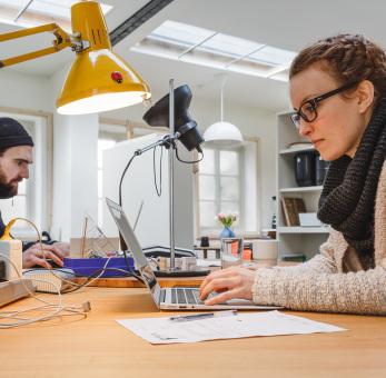 Start-up Förderung durch die Thüringer Aufbaubank