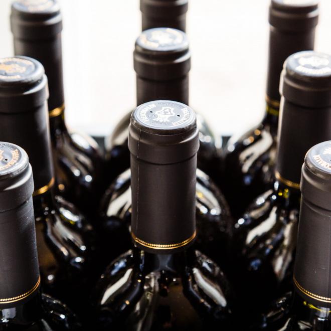 WBF – Stützungsprogramm des Thüringer Weinbaus (im Bild: Weinflaschen)