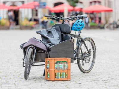 Cargobike Invest (im Bild: ein Lastenfahrrad)