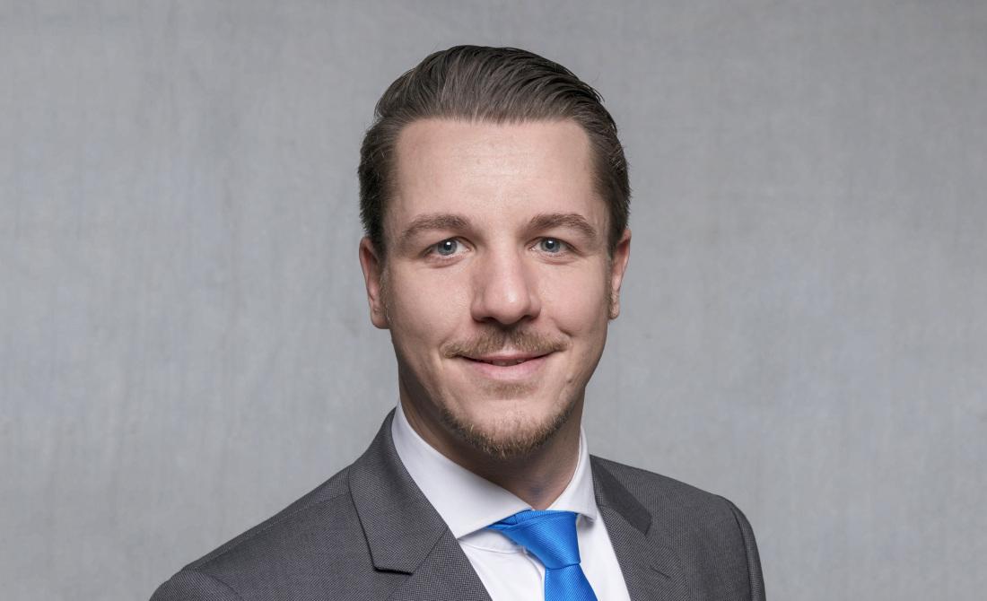 Im Bild: Daniel Schmidt, Kommunalexperte der Thüringer Aufbaubank