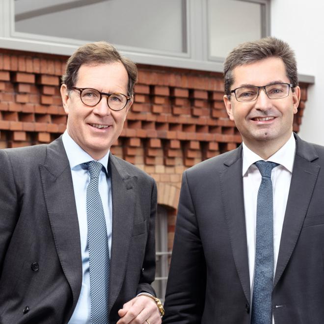 TAB-Vorstände Matthias Wierlacher (links) und Eckhard Hassebrock (rechts)
