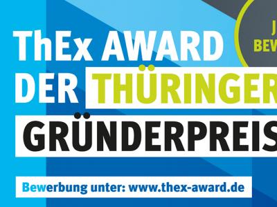 Startschuss für den ThEx AWARD –  Der  Thüringer Gründerpreis 2020
