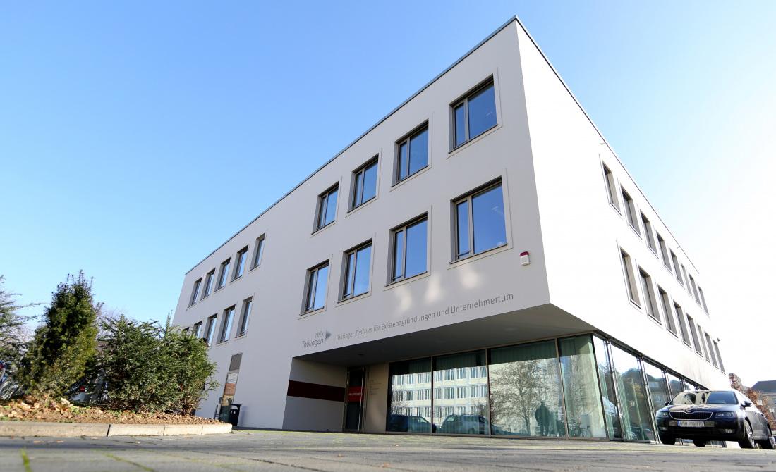 Thüringer Zentrum für Existenzgründungen und Unternehmertum - Gebäude in Erfurt